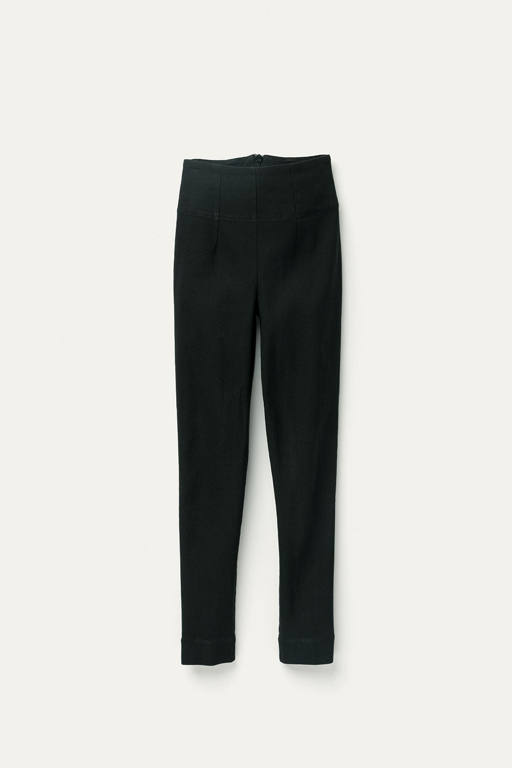 Cecilia Pant in Stretch Cotton Black
