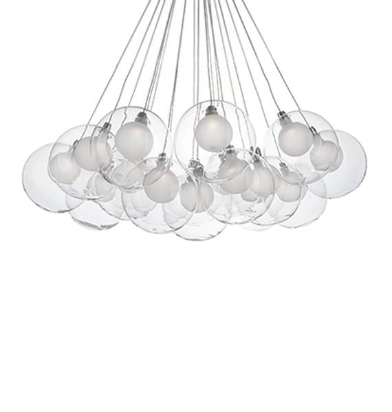 CH3128-CH Bolla Suspension Luminaire de Kuzco