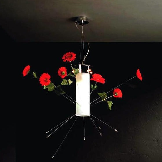 Flowers Pendant Light Fixture from Lucifero