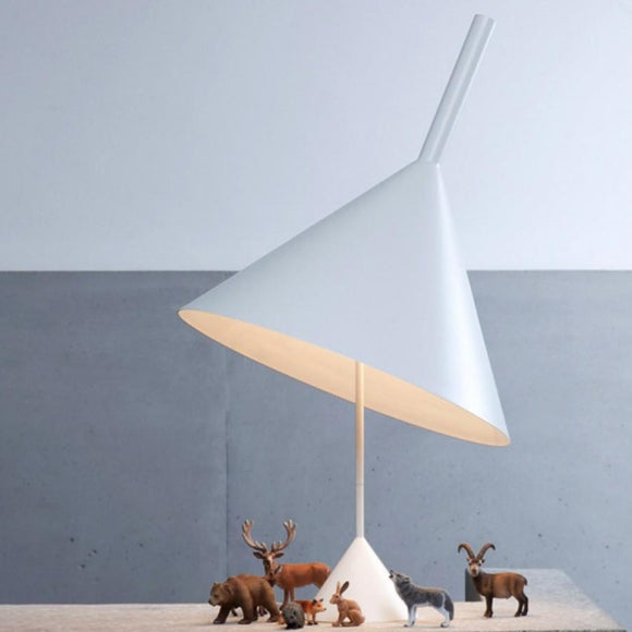 Funnel Table Lamp Light from Vertigo Bird