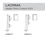 Lacrima Suspension Vistosi