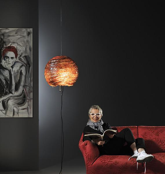 Up and Down Sphere Floor Lamp from Lucifero