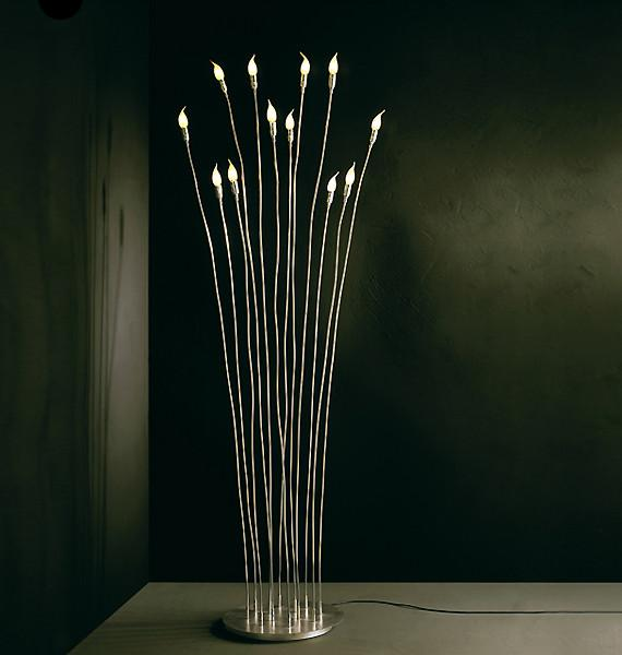 Villa Rivoli Floor Lamp from Lucifero