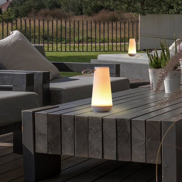 Uma Mini Battery Lamp from Pablo Outdoor Light Table Exterior