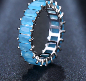 Icy CZ Ring