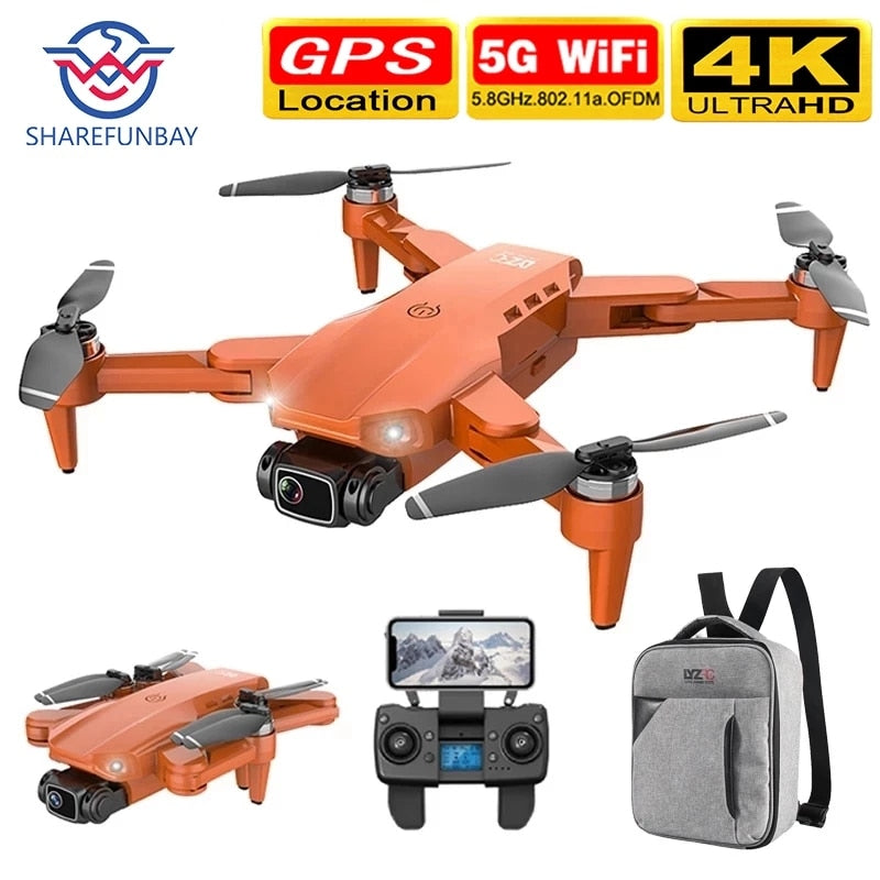 L900 pro 4K HD dual camera with GPS 5G WIFI FPV real-time transmission brushless motor rc distance 1.2km professional drone
