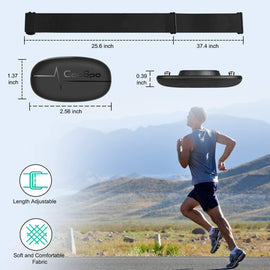 Heart rate monitor - chest belt