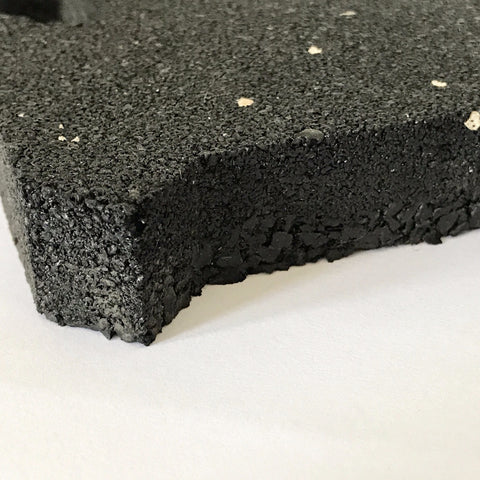 Interlocking crumb rubber mats - for functional free weights areas - Idass