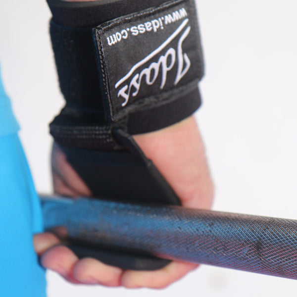 Weight Lifting Hook Wrist Strap. - Idass