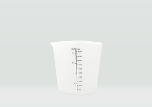 Heart-shape silicon measuring cup