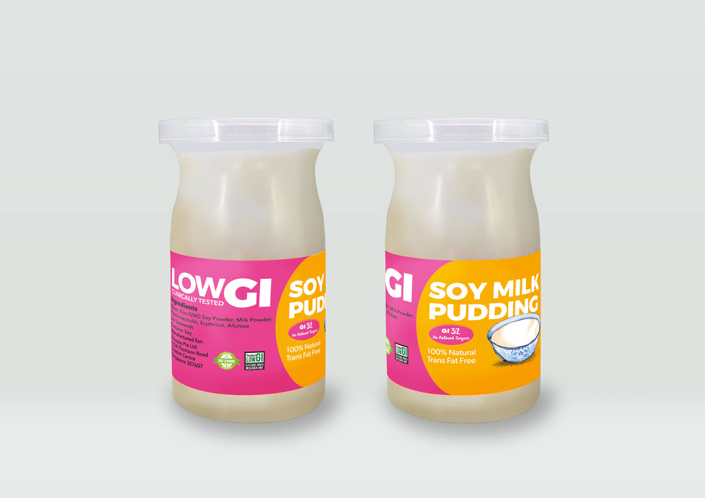 Soy Pudding - No Refined Sugars