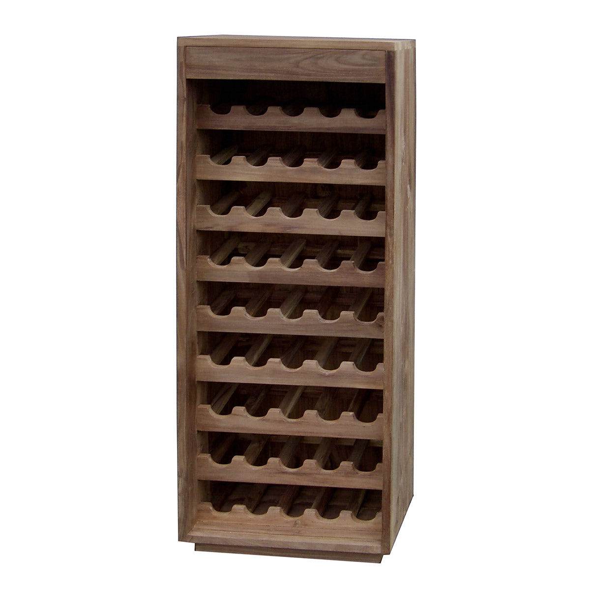 Teak Pure Wine Rack