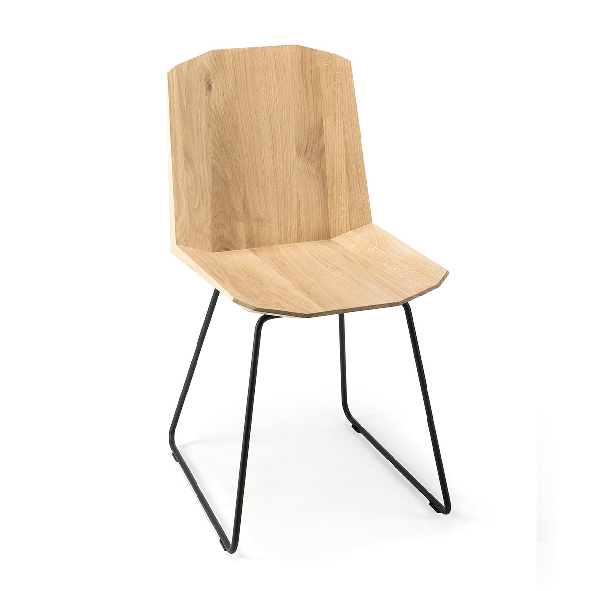 Ethnicraft Oak Facette Dining Chair