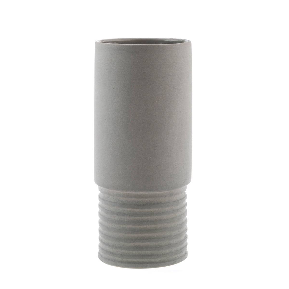 Tall Vase Small- Grey