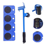 Furniture lifter sliders kit/Heavy furniture roller/Move tool set wheel bar mover device