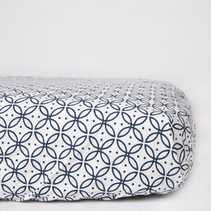 ORGANIC BABY SLEEP SHEETS NAVY