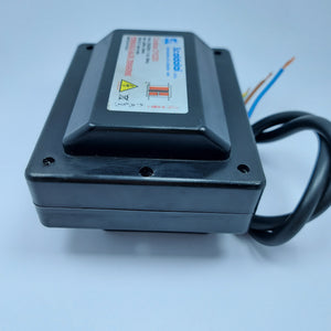 High-voltage oil burner ignition transformer