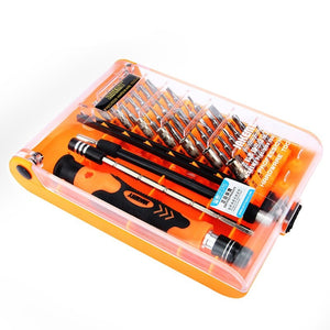 45 IN 1 Wholesale High Quality  Hand Tool Magnetic Precision Screwdriver Set for Iphone Cellphone Laptop Game pad