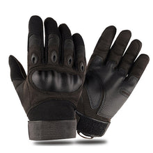 Load image into Gallery viewer, Touchscreen Motorcycle Gloves Artificial Leather Hard Knuckle Full Finger Protective Gear Racing Biker Riding Moto