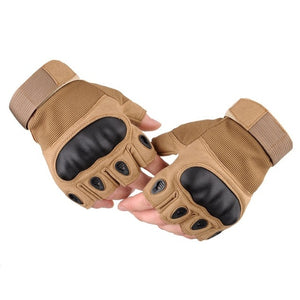 Touchscreen Motorcycle Gloves Artificial Leather Hard Knuckle Full Finger Protective Gear Racing Biker Riding Moto