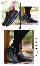 Load image into Gallery viewer, Work Safety Shoes Anti-Smashing Steel safe to Toe Construction Lightweight  Sneakers Boots Men