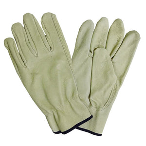 Pig Skin Leather Gloves BC-Grade Men Work Safety Working Mechanical Repairing Garden Gloves