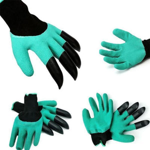 A digging glove helps you to dig in the gardens. High protection and one hand contains 4 claws
