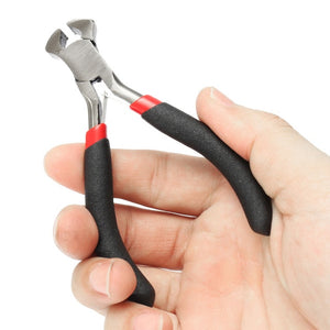 Long, small and medium pliers. High quality a savior in difficult times in cutting wire and attaching some bulgur