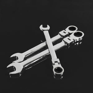1PC Wrench 6-11mm Open-ring Spanners Ratcheting Combination Hand Tool Wrench Kit Repairing Home Garden  Useful Tools