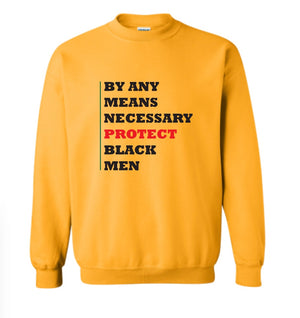 By Any Means-Men-Gold Long Sleeve