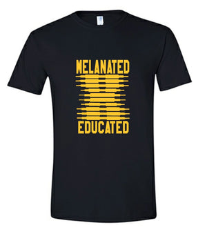 Melanated-Black & Gold