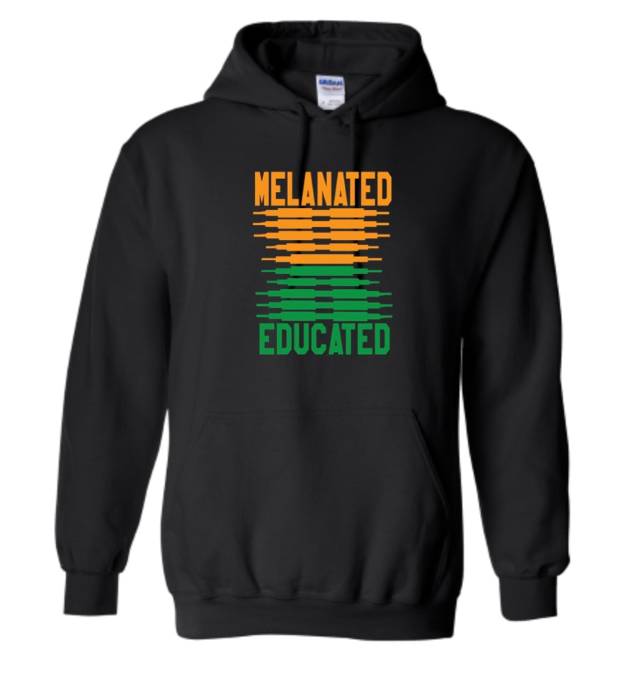 Melanated & Educated Hoodie-FAMU