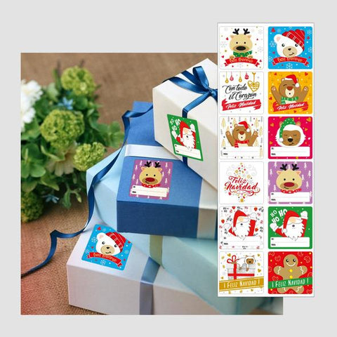 Set por 36 Stickers para Regalos