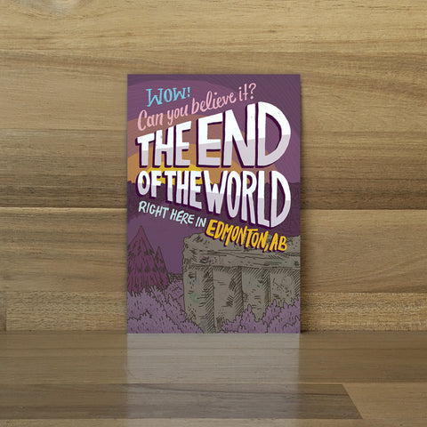 End of the World Postcard