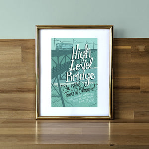 High Level Bridge Print