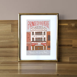 Princess Theatre Print