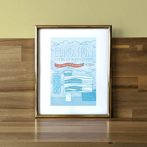 Edmonton International Airport (EIA) Print