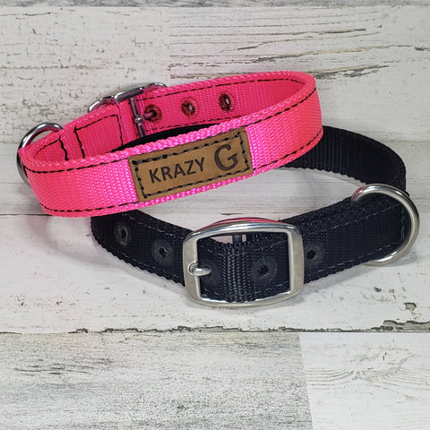 Krazy G Nylon Collars & Leashes