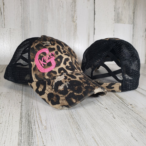Krazy G Criss Cross Ponytail Hat