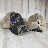 Krazy G Logo Criss Cross Ponytail Hats