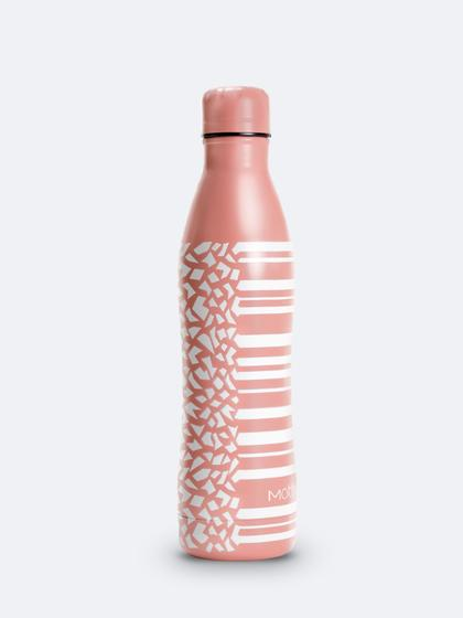 MOTHER PINK & WHITE WATER BOTTLE