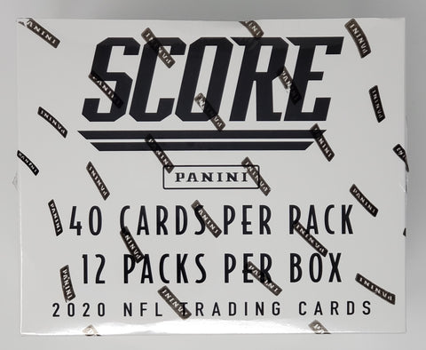 2020 Score Football Factory Sealed Fat Packs Box (480 Cards)