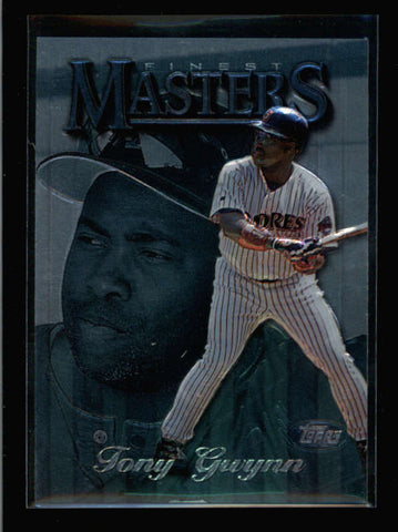 TONY GWYNN 1997 TOPPS FINEST MASTERS #298 SILVER EMBOSSED AC2547