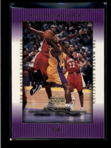 A.C. GREEN 2000 UPPER DECK LAKERS MASTERS COLLECTION XIII CARD #027/300 AB8395