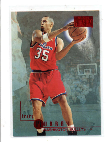 TRACY MURRAY 1996/97 96/97 SKYBOX PREMIUM #198 RUBIES RUBY PARALLEL AC1286