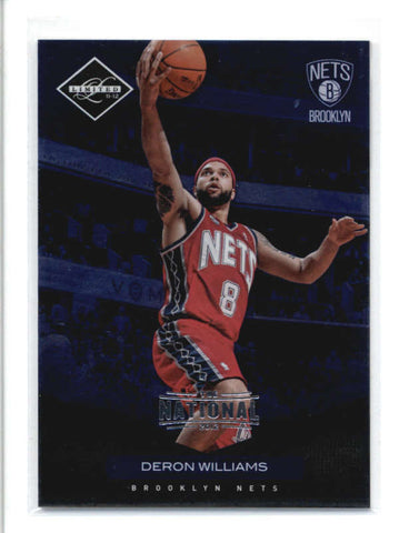 DERON WILLIAMS 2012/13 12/13 PANINI #48 THE NATIONAL BLUE PARALLEL #2/5 AB9344