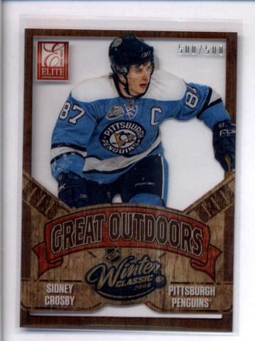 SIDNEY CROSBY 2012/13 PANINI ROOKIE ANTHOLOGY #GO-1 GREAT OUTDOORS #/500 AC2471