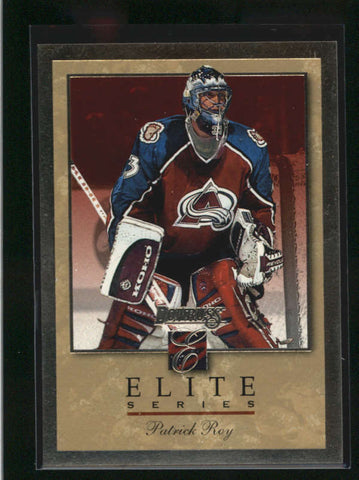 PATRICK ROY 1996/97 96/97 DONRUSS ELITE SERIES GOLD #1075/2000 AB9188