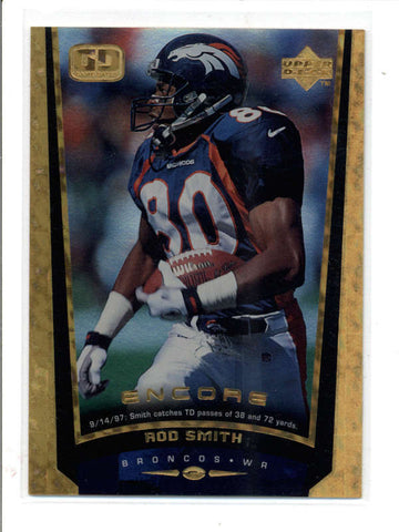 ROD SMITH 1998 UPPER DECK UD ENCORE #64 RARE F/X PARALLEL #109/125 AC937
