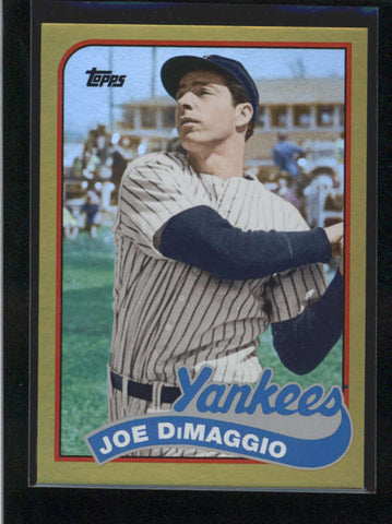 JOE DIMAGGIO 2014 TOPPS ARCHIVES #151 RARE GOLD PARALLEL #045/199 AB9822